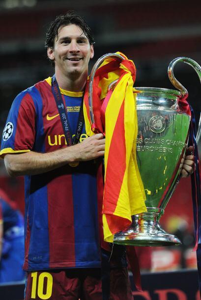 Messi fue elegido el mejor jugador del partido.