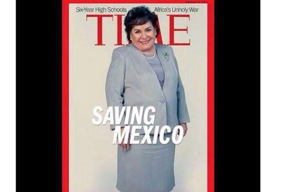 Carmelita Salinas hace su gran debut en la política.