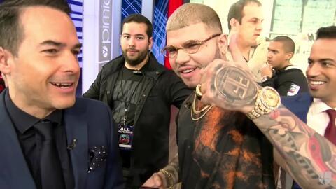 Carlos Calderón se animó con Farruko y quiere un tatuaje, mira donde jam...