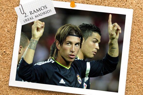 En la defensa está el español Sergio Ramos.