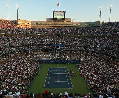 En tres superficies distintas...El US Open ha sido jugado en tres superf...