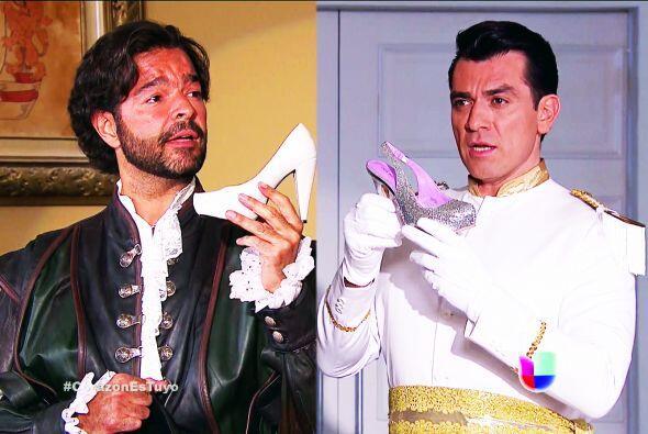 ¿Quién se quedará con su amor? ¡Vamos Fernando y Diego! Prueben sus zapa...