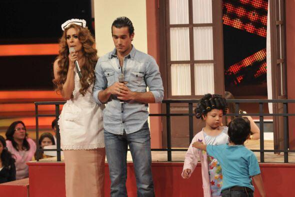 """La confusión de """"Telesa"""" puso a prueba a Javiercito y Aaron Díaz, los do..."""