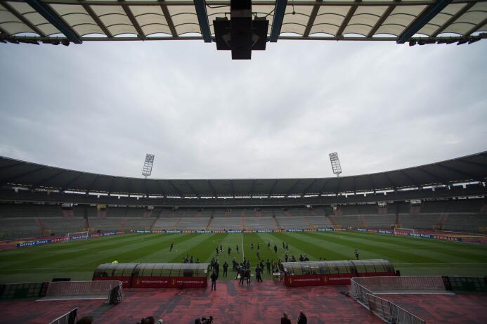 El Tri ultimó detalles en el estadio Rey Balduino, para enfrentar a Bélg...