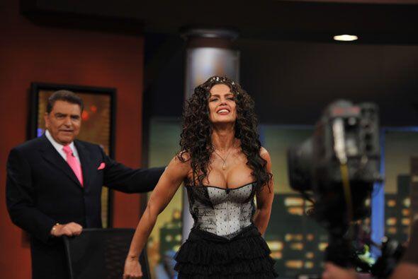 La actriz, quien se ha caracterizado por levantar polémica, muestra sus...