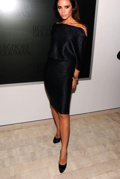 Victoria Beckham solía estar muy obsesionada con su figura, pues...