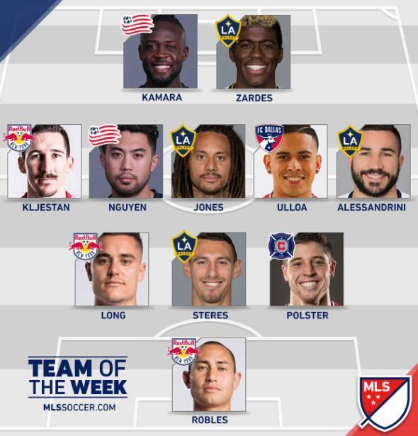 Equipo de la Semana 26 MLS
