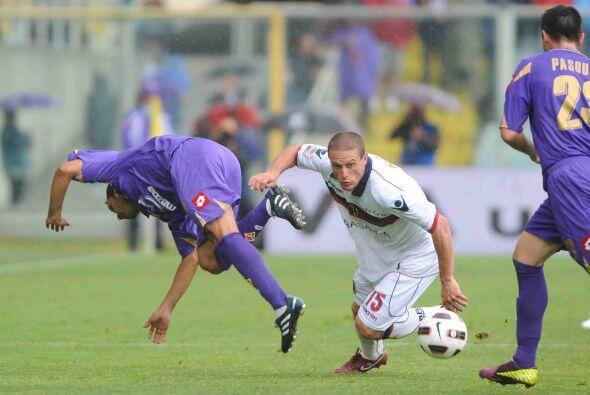 Fiorentina y Bologna protagonizaron un empate en duelo parejo incluso en...