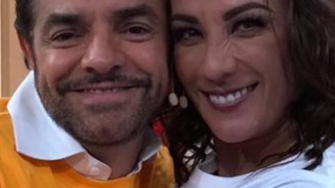 Consuelo Duval y Eugenio Derbez