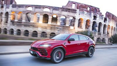 Lamborghini Urus promo
