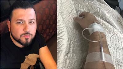 Roberto Tapia se recupera de fuerte infección estomacal.