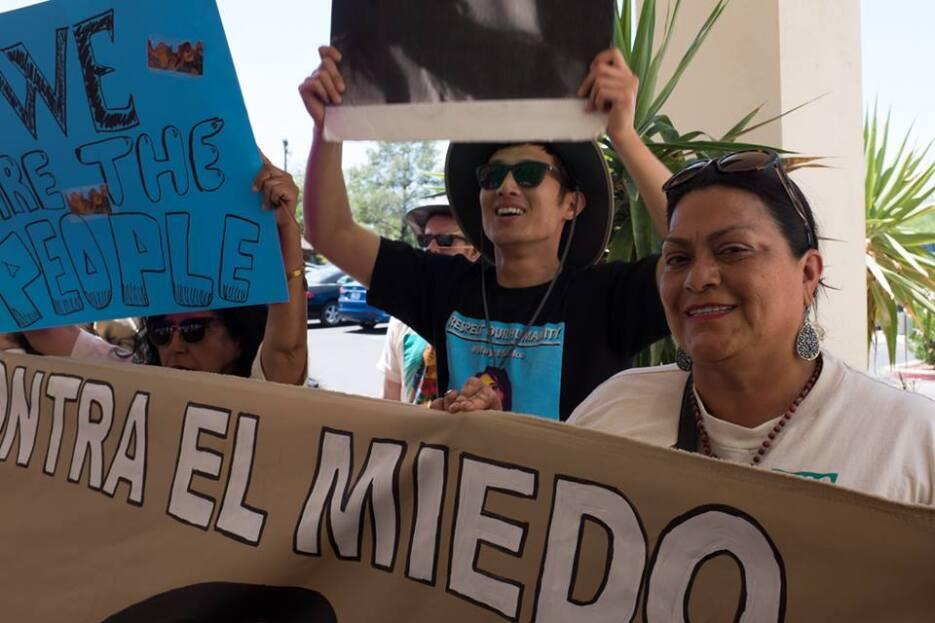 'La Caravana contra el Miedo' denuncia intimidación en Arizona Proteta M...