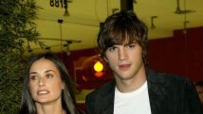 Demi Moore y Ashton Kutcher en los tiempos felices.