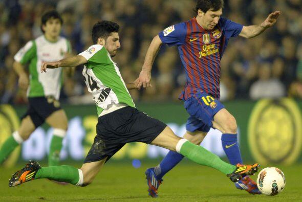 Messi estaba dispuesto a anotar una vez más.