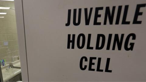 Un centro de detención juvenil en Brownsville, Texas.