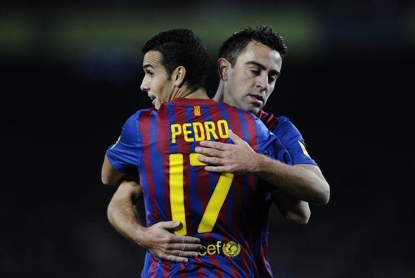 El atacante español convirtió el primer gol del duelo.