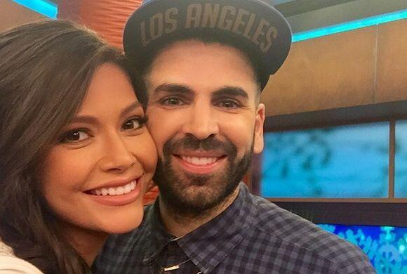 """""""Siempre un gusto verte mi @JomariGoyso"""", dijo Ana. (Enero 14, 2015)"""