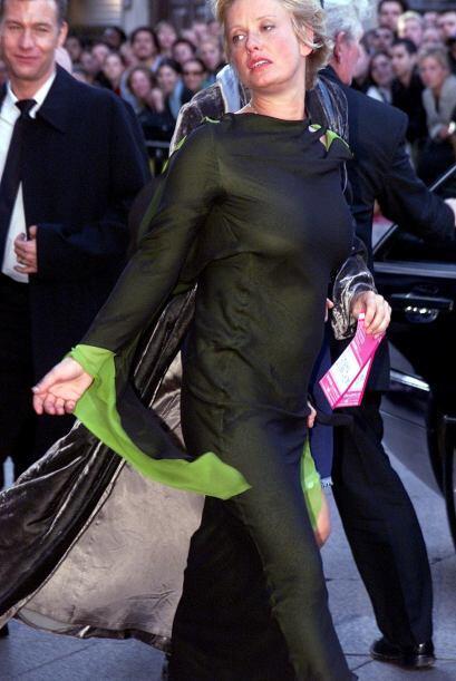 Ella es Paula Yates, una de las poquísimas veces que se dejó ver en públ...