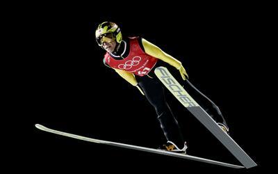 Los esquiadores olímpicos pueden superar las 90 millas por hora.
