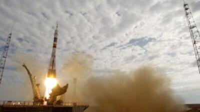 La base de lanzamiento de cohetes rusa enBaikonur, Kazajistán.