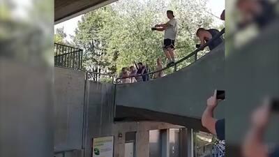 Ver para creer: Salto de Barandal, el nuevo deporte extremo