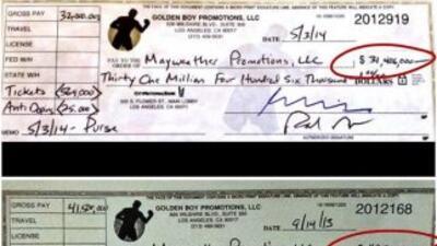 Floyd Mayweather Jr. contestó el reto y la burla que le lanzó hace unos...
