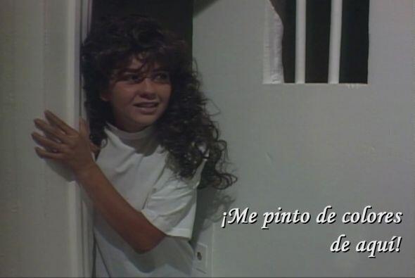 """""""Me pinto de colores de aquí"""". No te pierdas la telenovela María Mercede..."""