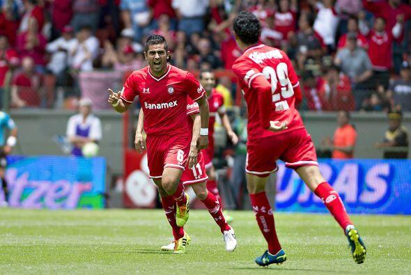Miguel Ángel Ponce.- El lateral izquierdo del Toluca ha tenido una gran...