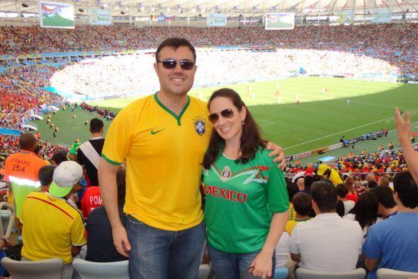 La experiencia de ir a un juego en el estadio de Maracaná fue inolvidabl...
