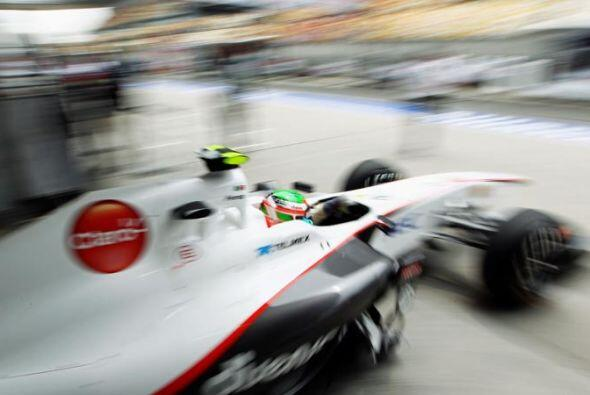 El Sauber de Pérez recibió ajustes durante la semana después del Gran Pr...
