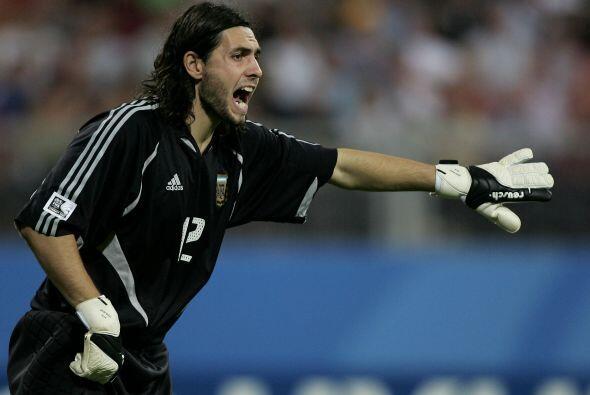 Otro argentino que está en el conteo es Germán Lux, el arquero del Depor...