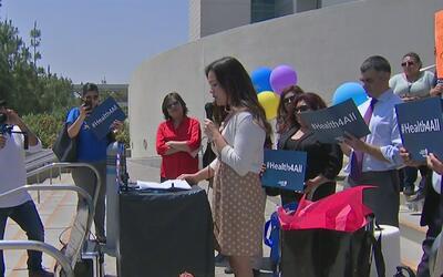 En el Día de Acción Estatal, piden expansión de cobertura de salud al go...