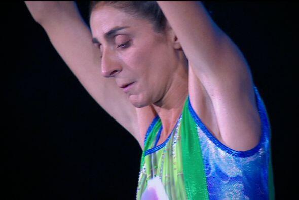 Bárbara Torres se concentró al máximo.