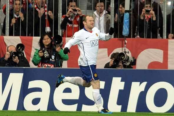 Apenas habían pasado dos minutos del inicio del partido cuando Rooney ya...