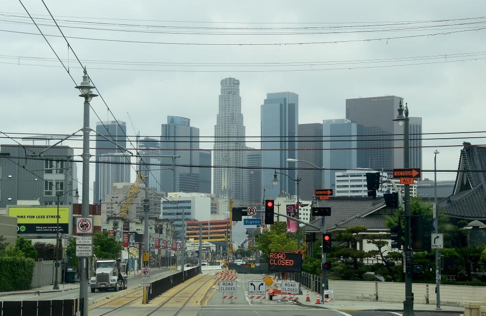 Los Ángeles y sus alrededores están en el segundo lugar, c...