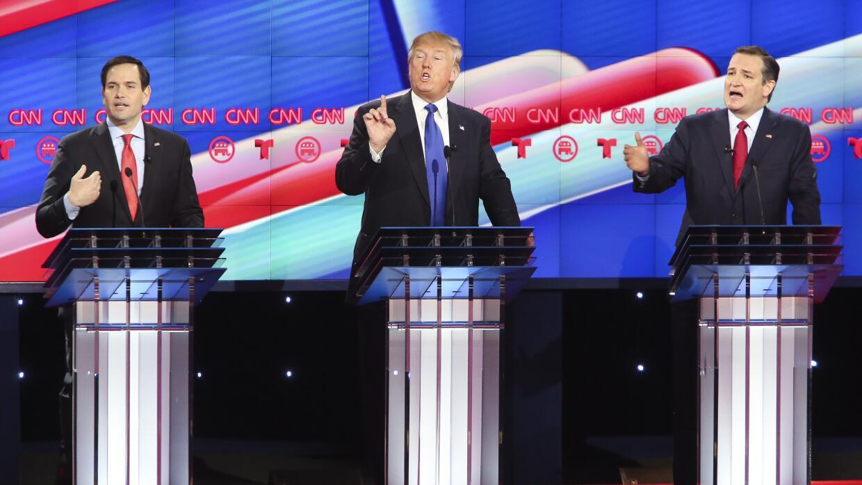 Análisis: El abismo republicano ante el voto latino GettyImages-Trump-Cr...