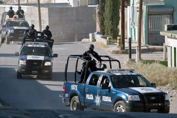 Más de dos mil calles de Ciudad Juárez -la urbe más violenta de México-...
