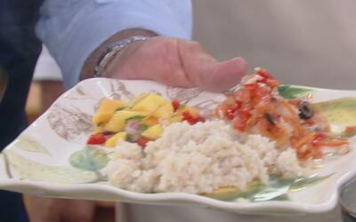 Receta de Pescado Caribeño con el Chef Pepin y Paty Navidad