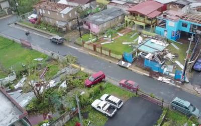 Así se ve el municipio de Bayamón luego del paso del hurac...