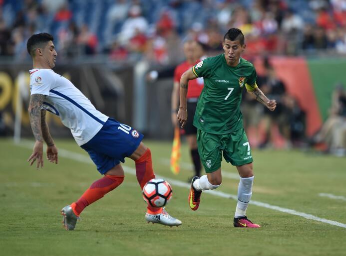 El ranking de los jugadores de Chile vs Bolivia 13-GettyImages-539300638...
