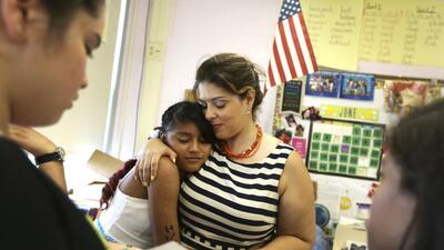 Las escuelas más afectadas son también escuelas con menos recursos, en z...