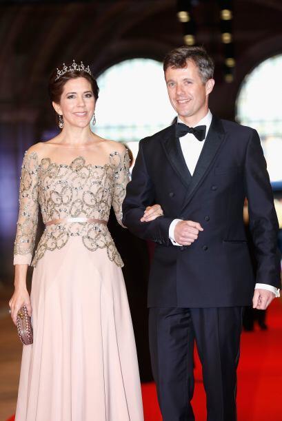 La princesa Mary de Dinamarca también es fan de los diamantes y las tiar...