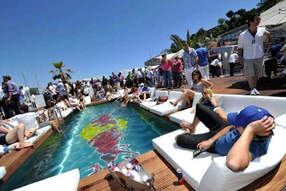 Un puesto espectacular para un fin de semana de Fórmula 1 en Mónaco.