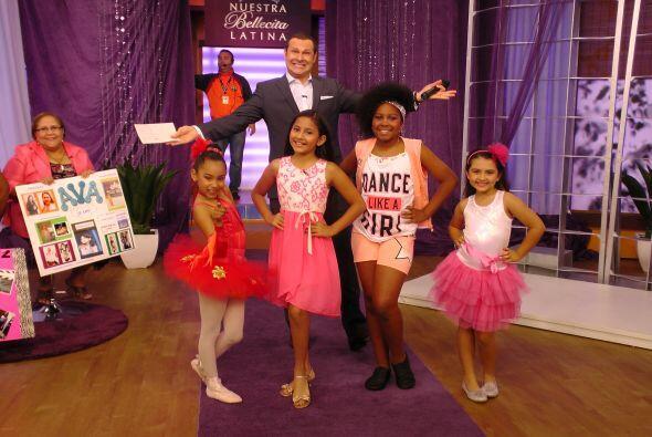 ¡Una de ellas será la afortunada de representar a todas las niñas latinas!
