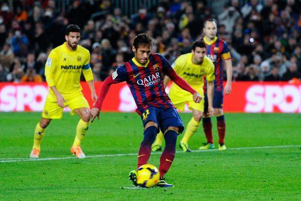 Neymar marcó sus dos goles en los momentos en los que parec&iacut...