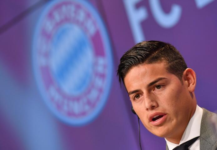 James celebró su cumpleaños 26 con la firma del contrato en el Bayern  6...
