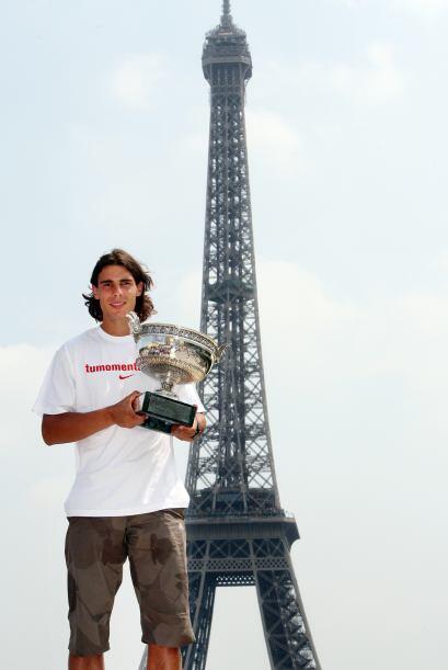 08.- Segundo Grand Slam, Roland Garros: Lo logró a costa de Roger Federe...