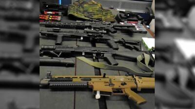 Incautan armas y municiones en la frontera de Arizona