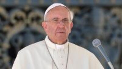 """El Papa Francisco dijo que la tragedia de Lampedusa era una """"vergüenza""""."""