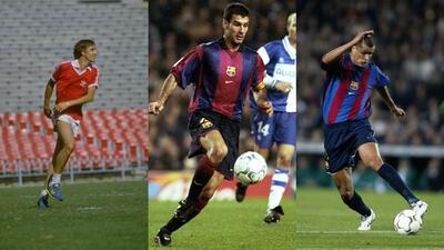 Así eran las figuras del Barcelona antes de Lionel Messi